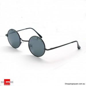 Vintage Round Lens Black frame Fashion Glasses