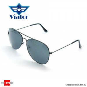 Aviator Style Fashion Sunglasses - Black