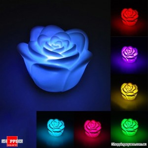 Changing 7 Colour LED Rose Flower