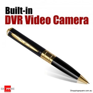 Camera Pen Video Voice Recorder -Support 32GB TF Card