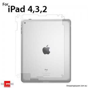 Clear Back Flim Protector Cover For The New iPad 2 3 4