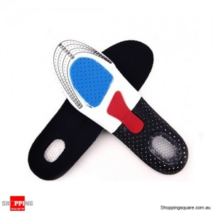CUT TO FIT - Universal Unisex Sports Running Gel Insoles Insert Cushion Shoe Pad