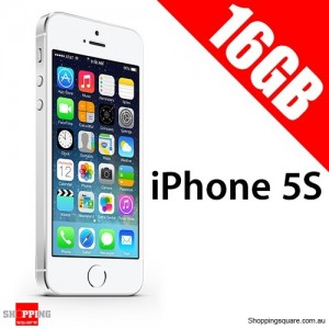 Apple iPhone 5S 16G Unlocked Silver Smart Phone