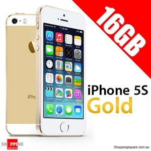 Apple iPhone 5S 16G Unlocked Gold Smart Phone