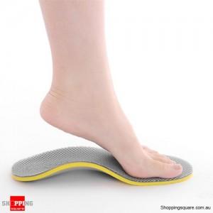 Insoles 1 Pair Arch Support Shoe Pads for Men Women L Size