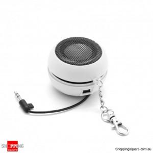 Mini Portable Speaker for iPhone Samsung HTC Sony LG White Colour
