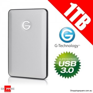 G-Tech 1TB G-Drive Mobile Portable Hard Disk Drive - USB 3.0