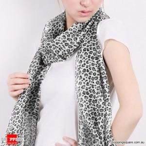 Fashion Soft Chiffon Scarf Gray Colour