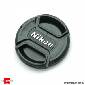 58mm Nikon Camera Snap-on Len Lens Cap Cover