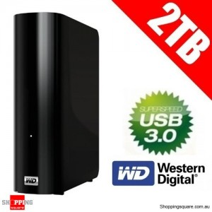 Western Digital 2TB MY BOOK ESSENTIAL 3.5'' USB3.0 & 2.0 External Hard Drive (WDBACW0020HBK-NESN)