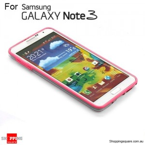 Bumper case for Samsung galaxy Note III N9005 pink Colour