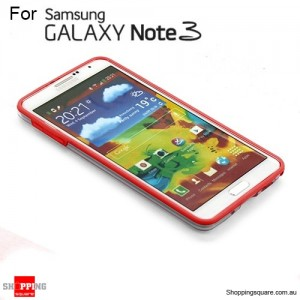 Bumper case for Samsung galaxy Note III N9005 red Colour