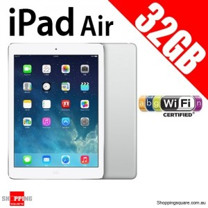 Apple iPad Air IPS 32GB 9.7inch Wifi Tablet Sliver