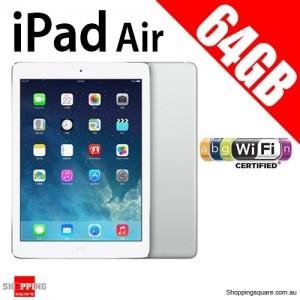 Apple iPad Air IPS 64GB 9.7inch Wifi Tablet Sliver