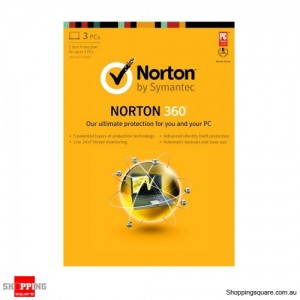 Symantec Norton 360 All In One Security V7.0 OEM 3User