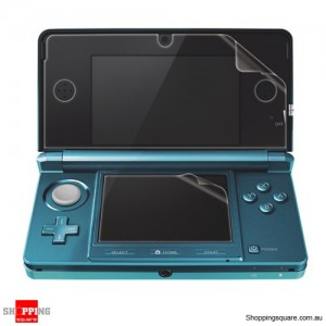 LCD Screen Protector Film Guard for Nintendo 3DS