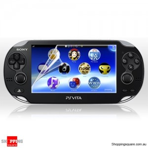 Clear Screen Protector LCD Guard Film Shield for Sony PSP Vita
