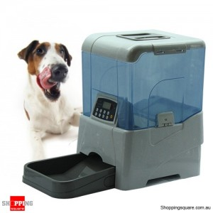 Automatic Pet Feeder - Nursemaid Remote controlled White Colour