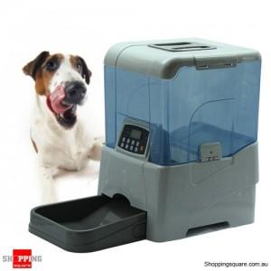 Automatic Pet Feeder - Nursemaid Remote controlled White Colour