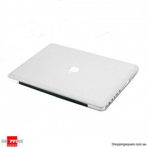 "Hard Case Rubberized Cover For Apple Mac Macbook Pro 13.3"" 13 inch A1278 Clear"
