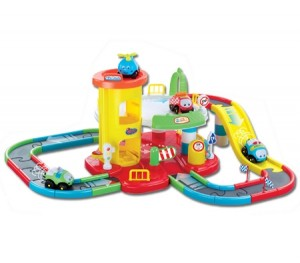 46 Piece Kids Parking Road Track