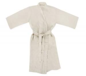 Sheridan Abbotson Bath Robe - Flax - L/XL