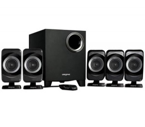 Speaker System - Creative Inspire T6160 for PC Gaming 5.1 Channel