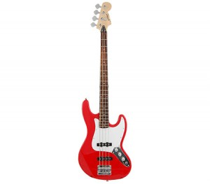 Electric Bass Guitar (120cm) Red