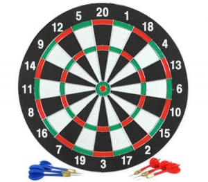 Hanging Dartboard Set with Darts