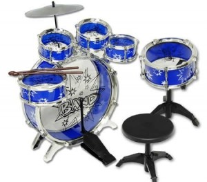 Big Band Let's Rock in Roll  9PCsToy Jazz Drum Kids Play Set