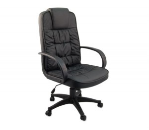 PVC  Leather High-Back Executive Office Chair