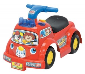 Fisher-Price Little People Lil' Fire Truck Ride-On Toy