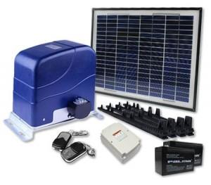 Solar Power Automatic Sliding Gate Opener