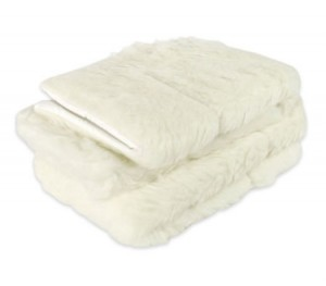 Nature's Force Woolen Magnetic Pillow Cover 100% Australian Wool Fleece - Twin Pack