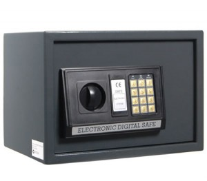 Large Personal Electronic Safe Security Box with Digital Code + Access Key