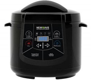 NewWave 6 Litre 6 in 1 Multi Cooker - Black