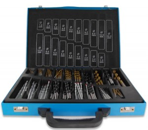 160 Piece Professional Series Drill Bit Set in Metal Storage Case
