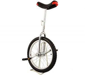 "Pro Circus Unicycle Bike 18"" inch/46cm - White"