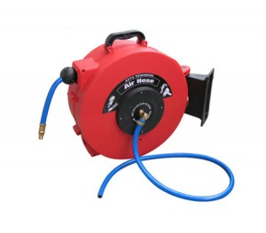 15M Auto Rewind Retractable Air Hose Reel Workshop Garage Mechanic