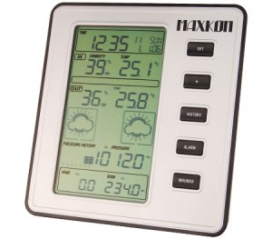 Maxkon Wireless Digital Weather Forecast Station Thermometer