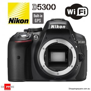 Nikon Digital SLR Camera D5300 Body Black