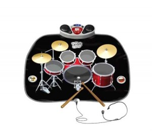 Zippy Mat Drum Kit Playmat Kids Musical Drum Set