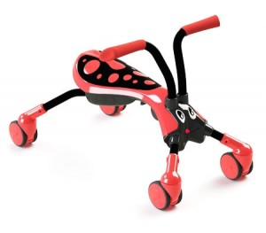 Scramble Bug Ride On Toy - Beetle - Red/Black