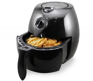 2.2L Black Air Fryer