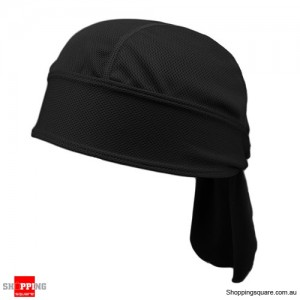 New Sports Headsweats Bandana Black Colour