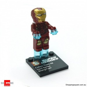 Super Heroes Series Iron Man Mini Figure