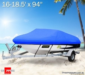 16-18.5ft All-Weather Boat Cover Top