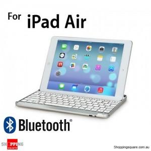 SmartBuddy Aluminum iPad Bluetooth 3.0 Keyboard Case for iPad Air White Key