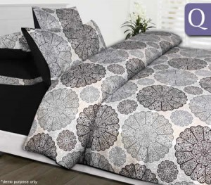 The Big Sleep Microfibre Queen Quilt Cover Set - Jake
