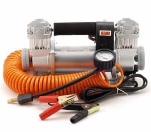150Lt 12V Dual Cylinder Heavy Duty Air Compressor